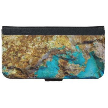 Natural Turquoise iPhone 6 Wallet Case