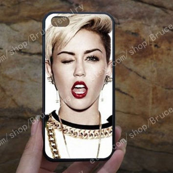 Miley cyrus iphone case,phone case,galaxy S5 case,iPhone 5C 5/5S 4/4S,samsung galaxy S3/S4/S5,Personalized Phone case