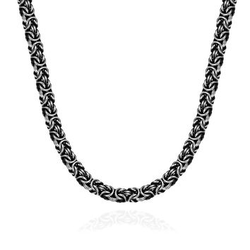 Medieval Inspired Stainless Steel Necklace