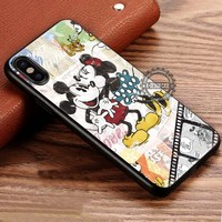 Classic Mouse Couple Happy Kissing iPhone X 8 7 Plus 6s Cases Samsung Galaxy S8 Plus S7 edge NOTE 8 Covers #iphoneX #SamsungS8