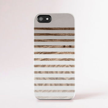 iPhone 6 Case Wood Print Autumn Color iPhone 6 Plus Case Winter Color iPhone 5 Case Stripe iPhone Case Neutral iPhone Case Minimal Chic