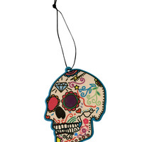 Sugar Skull Air Freshener | Hot Topic