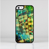 The Colorful Chaotic HD Shard Pattern Skin-Sert Case for the Apple iPhone 5c