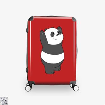Panda Bear, We Bare Bears Suitcase