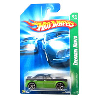 Chrysler 300C '08 Hot Wheels Treasure Hunts 161/196 (Green) Vehicle