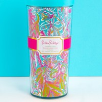 Lilly Pulitzer Thermal Mug-Scuba To Cuba