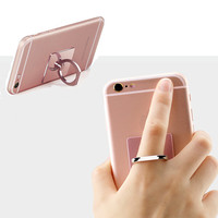 2017 Original New Luxury 360 Degree Finger Ring Mobile Phone Smartphone Stand Holder For iPhone iPad all Smart Phone 8 Colors