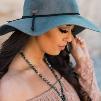 Adventure Begins Floppy Hat (Teal)