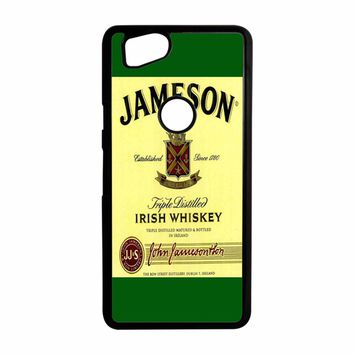 Jameson Wine Irish Whiskey Google Pixel 2 Case