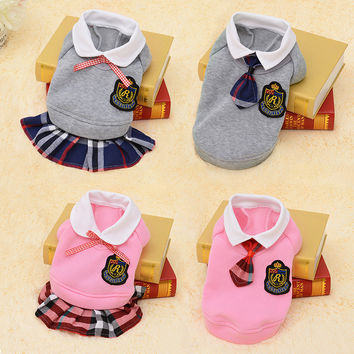 Cute Outfit For Dog Small Pet Dog Clothes Warm Puppy Coat Costumes Chihuahua Dog Clothing Spring Shirts Clothes Pet Costume 39S1