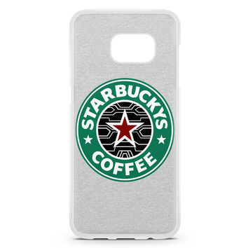 Bucky Barnes The Winter Soldier Coffee Samsung Galaxy S7 Edge Case