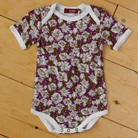 Purple Floral Oneise
