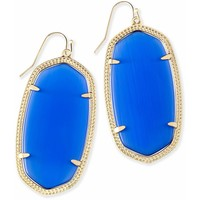 Kendra Scott: Danielle Earrings In Cobalt