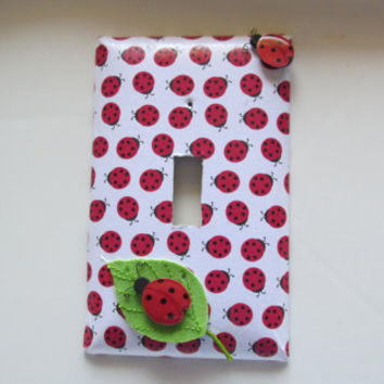 Ladybug Light Switch Cover