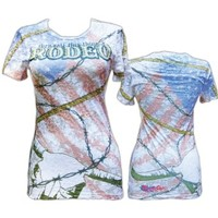 XtremeChix Rodeo Design Women's Fashion Tee