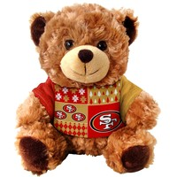 San Francisco 49ers 7.5 inch Ugly Sweater Bear