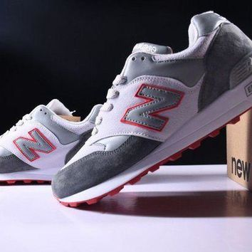 ONETOW cxon new balance nb577 white grey for women men running sport casual shoes sneakers
