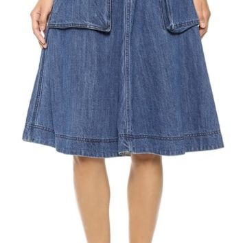 Marc by Marc Jacobs Revival Denim Skirt