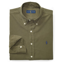SLIM COTTON OXFORD SHIRT