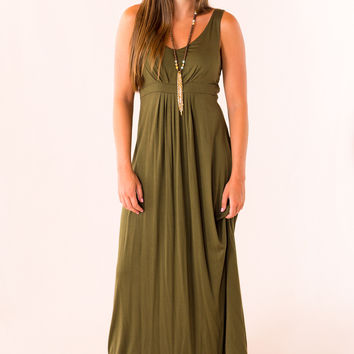 Easy to Style Maxi in Olive