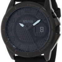 Kenneth Cole REACTION Men's RK1232 Classic Oversized Round Analog Field Watch: Watches: Amazon.com