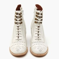 Mattie Ankle Boot - Ivory