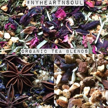 Tea Blends - Organic Loose Leaf Teas