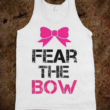 Fear The Bow - Whitney's Wardrobe