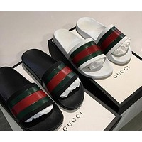 '' Gucci ''  Men Fashion Casual Sandals Slipper Shoes