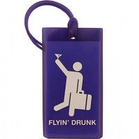 Flight 001 – Where Travel Begins. F1 Flyin' Drunk Tag - Luggage Tags - All Products