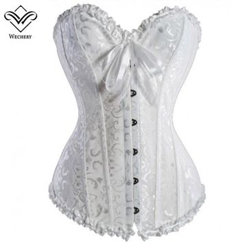 Corset Sexy Corsage Corsets And Bustiers Slimming Overbust Top Corsages Corselet Wedding Plus Size black friday deals S-6XL
