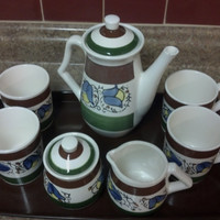 Vintage Tea or Coffee Set Japan Numbered 50/23 with Tray