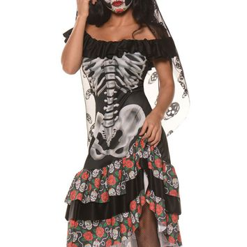 Chicloth Queen of the Dead Halloween Party Cosplay Costume