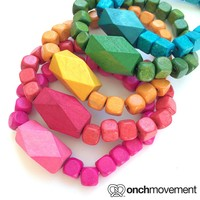 Onch Movement — Rainbow Geo Bracelet