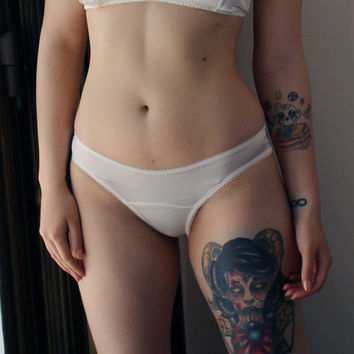 stretch silk panties - bridal wedding - made to order and ready to ship