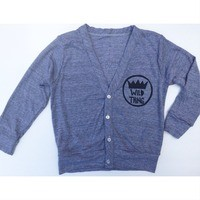 Wild Thing Cardigan from Little Rascals Shop