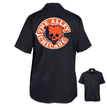 The Alley Chicago Football Parody Work Shirt