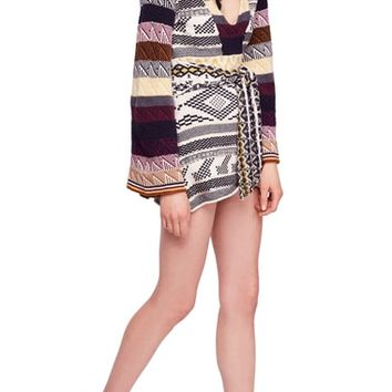 Free People Patchwork Sweater Dress | Nordstrom