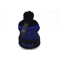 Perfect Diamond Supply Women Men Embroidery Beanies Knit Winter Wool Hat Cap