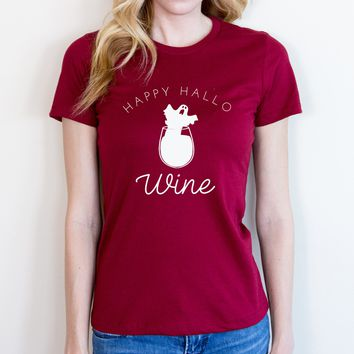 Happy Hallo-wine Tee