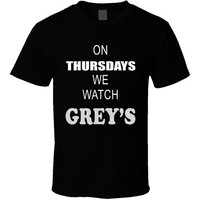 Grey's Anatomy t-shirt. Grey's Anatomy tshirt for him or her. Grey's Anatomy tee as a Grey's Anatomy idea gift. A great Grey's Anatomy gift