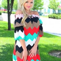 It's Amazing Belle Sleeve Dress - Modern Vintage Boutique