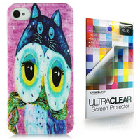 Art of Owl 3324 back cover, Apple iPhone 4GS