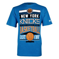 New York Knicks Rafters T-Shirt - Royal Blue