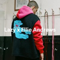 Lazy Oaf Got Heart Zip Up Jumper