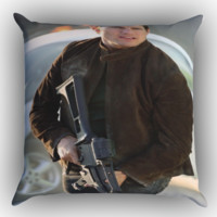 tom cruise mission impossible X0886 Zippered Pillows  Covers 16x16, 18x18, 20x20 Inches
