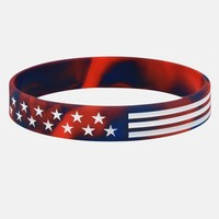 Tactical Red/Blue Wristband