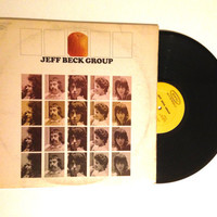FALL SALE Jeff Beck Group Self Titled LP Album 1972 Blues Rock Ice Cream Cakes Definitely Maybe Vinyl Record