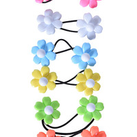 Flower Power Hair Ties