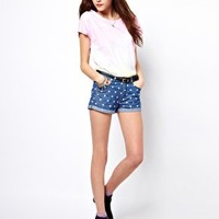 Vero Moda Polka Dot Shorts at asos.com